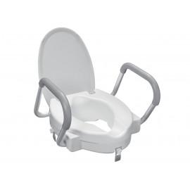 WC-istuimen korottaja käsituilla