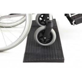 Kumiramppi pyörätuolille tai rollaattorille
