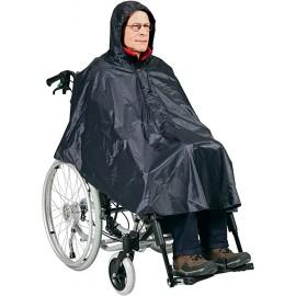 Poncho sadetakki pyörätuolille