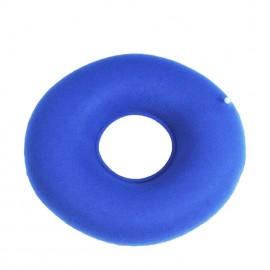 Puhallettava donitsin muotoinen pehmuste istuimelle
